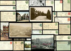 YORK + DISTRICT 1904-1964 PICTURE POSTCARDS + POSTMARKS VILLAGES etc EACH PRICED