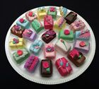 LOVELY DECORATED PETIT FOURS FAKES