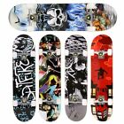 31x 8'' Standard Skateboards Beginners Complete Boards Canadian Maple Cruiser~ image