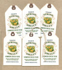 Hang Tags PRIMITIVE SPRING CHICK FEEDSACK TAGS 1245 Gift Tags