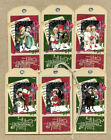 Hang Tags VINTAGE STYLE VICTORIAN CHILDREN MIXED CHRISTMAS TAGS T 50 Gift Tags