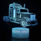 Remote & Touch Control 3D LED Night Light Car series 7/16 Color Change LED Lamp