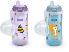 NUK Kiddy Cup with Hard Leak-proof Drinking Spout and Smooth Valve