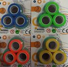 Fin Gears , Magnetic Rings Fidget Toy Magnetic Games Colorful Spinners 4 kids