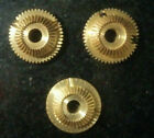 Brass Gears for the HP 8640B Signal Generator