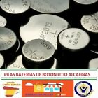PILAS BATERIAS ALCALINAS LITIO BOTON 3V, 1,5V BATTERIES ALKALINE LITHIUM BUTTON
