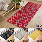 Machine Washable Non Slip Trellis Kitchen, Corridor, Hallway Runners Rugs Mats