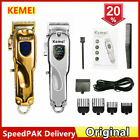 2020 Kemei All-metal Professional Hair Clipper Electric Cordless Hair Trimmer US