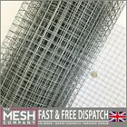 "1""x1"" Welded Wire Mesh Galvanised Aviary Fence Rabbit Hutch Coop PetChicken Run"