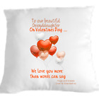 Granddaughter Cuddle Cushion  Hug Pillow Gift idea sending love Personalised