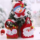 Cute Santa Claus Christmas Gift Bags Festive Candy Present Packing Storage Bl