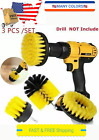 Car Wash Brush Hard Bristle Drill Auto Detailing Cleaning Tools Nylon Scrubber