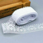 10 Yards/Roll Lace Ribbon 40MM Lace Trim DIY Embroidered For Sewing Decoration