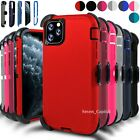 For iPhone 11 11 Pro Max Shockproof Protective Hard Case Cover With Belt Clip