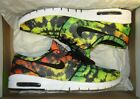NEW Nike Stefan Janoski Max PRM Men Shoes, Yellow/Black/Green, 807497-703, Sz 12