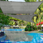 Outdoor Shade Sail Patio Suncreen Awning Garden Sun Canopy 99% UV Block