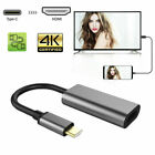 USB 3.1 Tipo C A HDMI Ultra HD TV Cable Adaptador Para...