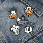 Ghost Pumpkin Umbrella Brooches Backpack Clothes Lapel Pin Badge Jewelry Gift