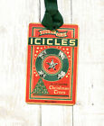 Hang Tags RETRO DOUBLE GLO ICICLES TINSEL BOX TAGS or MAGNET 159 Gift Tags