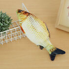 Electric Moving Cat Fish Toy Realistic Flopping Wiggle Interactive Fish