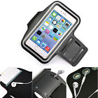 Black Sports Armband Phone Case Cover Gym Running For Energizer Ultimate U650S