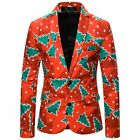 Winter Christmas New Year Party Clothing Costume Suit Gift Men Male Casual