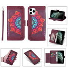 For Iphone 12 Mini 11 Pro Max Xr 7 8 Se2nd Genuine Leather Card Slot Wallet Case