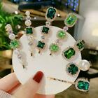 Hair Clip Hairpin Barrette Womens Pearl Crystal Stick Bobby Pin Beauty H6o4