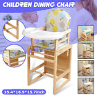 Kids Highchair Feeding Dining Chair Drawing Tables Height-adjust Booster Seats