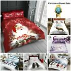 XMAS DUVET COVERS Pillow Case Christmas Bedding Set Winter Soft CHRISTMAS Cover