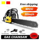 2 Cycle Guide Board Chainsaw Gasoline Powered Handheld Chain Saw 58CC / c 13