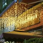 Icicle+Snowing+Effect+Lights+Christmas+Xmas+216LED+Outdoor%2FIndoor+with+8+Modes