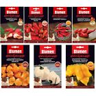 Range of Blumen Chilli & Pepper Seeds Garden Seed