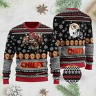 Kansas City Chiefs Ugly Christmas Sweater 3D S-3XL FREESHIPPING
