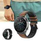 20/22mm Cowhide Silicone Watchband Wrist Strap Replacement for HUAWEI Watch GT2