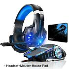 Kotion Each Gaming Headset Deep Bass Stereo Game Headphone With Microphone Led