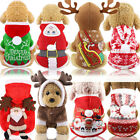 2021 New Christmas Gift Dog Funny Clothes Fall Winter
