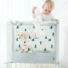 Baby Bed Hanging Storage Bag Toy Diaper Organizer 9 Pockets For Cradle Bed