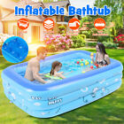 Inflatable Family Swimming Pool Backyard Outdoor Swim Play Center For Kids