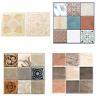 Wall Stickers Self Adhesive Mosaic Tile Decals Kitchen Bathroom Home Decoration