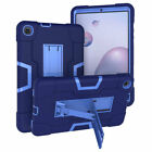 For Samsung Tab A 8.4 SM-T307 Tablet Case Silicone Plasic Hybrid BackFront Stand