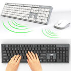 Ajazz A2080i Wireless QWERTY KeyBoard and Mouse Desktop Combo Set