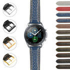 StrapsCo Perforated Rally Watch Band Strap for Samsung Galaxy Watch 3