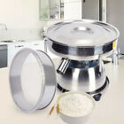 Electric Sieve Vibrating Shaker Sifter Machine Food Processing Powder Shaking US