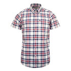 Barbour Highland 6 S/S Tailored Shirt Sky - JANUARY SALE
