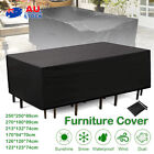 Waterproof Outdoor Furniture Cover Garden Patio Rain Uv Table Sofa Protector Aus