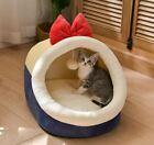 Pet Dog Cat House Beds Tent Sofa Mat Cushion Kitty Indoor house Ball Size S-L