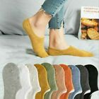 SALE 10 Pack Women Cotton Socks Loafer Boat No Show Nonslip Multicolor Summer