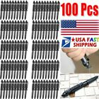 "6""Aluminum Tactical Pen Glass Breaker Writing Survival Outdoor Pen Tools"