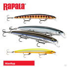 Rapala MaxRap Minnow Lures - Bass Wrasse Pollock Sea Trout Pike Fishing Tackle